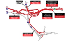 These closures are happening on most weekends in 2018 for the Turcot Interchange