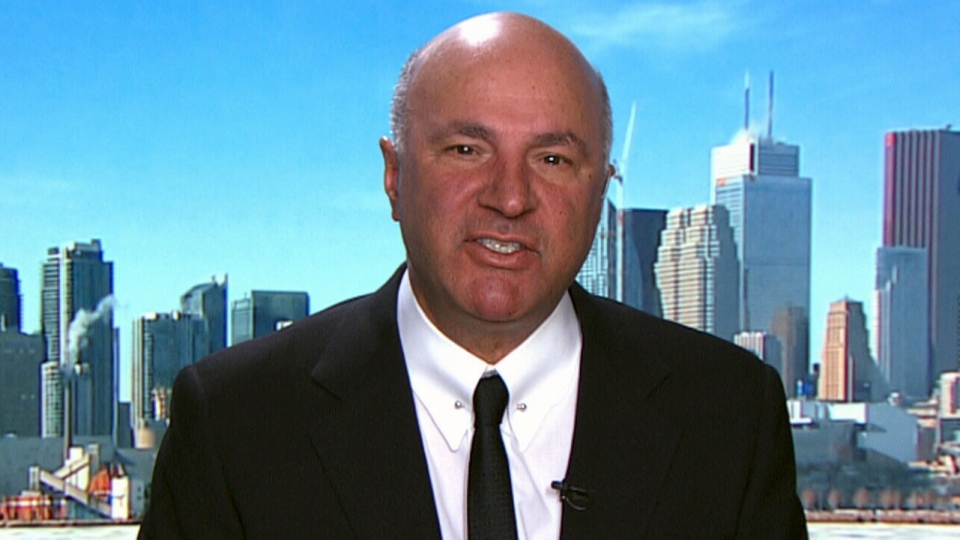 Kevin O'Leary, chairman of the O'Leary Financial Group and a former federal Conservative leadership candidate, speaks to CTV News Channel on March 1, 2018.