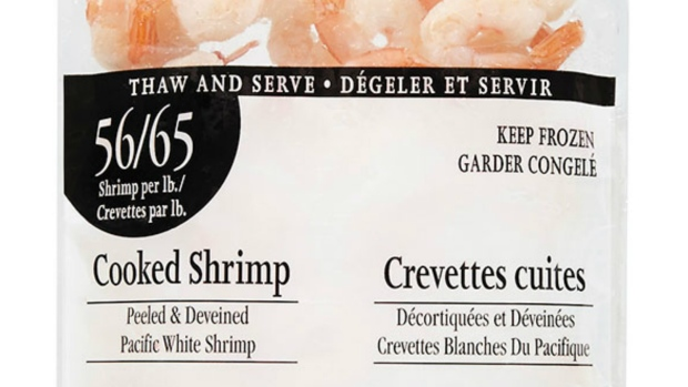 Loblaws recalling pre-cooked shrimp packages over bacteria risk