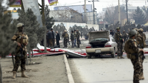 Explosion in Afghan Capital, Casualties Reported