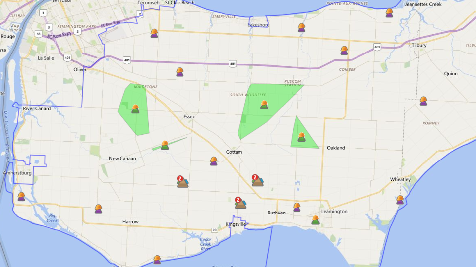 Essex Power Outages
