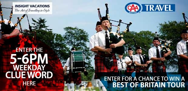 Best of Britain 5-6pm Hour Banner