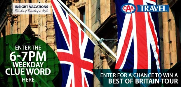 Best of Britain 6-7pm Hour Banner