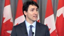 Prime Minister Justin Trudeau speaks