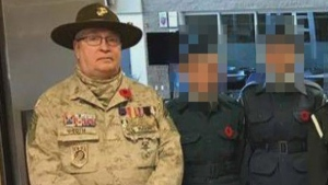 Toth was charged after attending Remembrance Day ceremonies in a uniform, allegedly claiming to be a former U.S. Marine Corp. scout sniper who served in Iraq and Afghanistan.