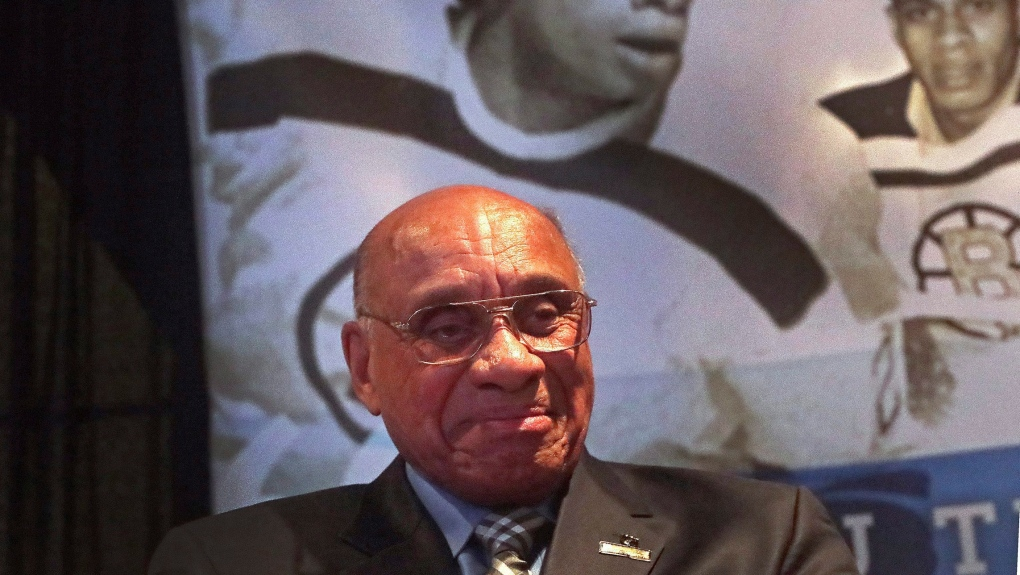Momentum growing in effort to get Willie O'Ree into Hockey ...