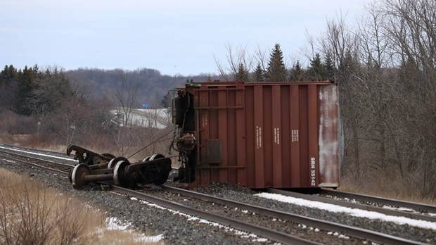 Freight train derailment cancels Ottawa-bound VIA trains