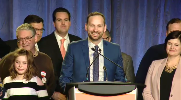 Ryan Meili speaks after Sask. NDP leadership win