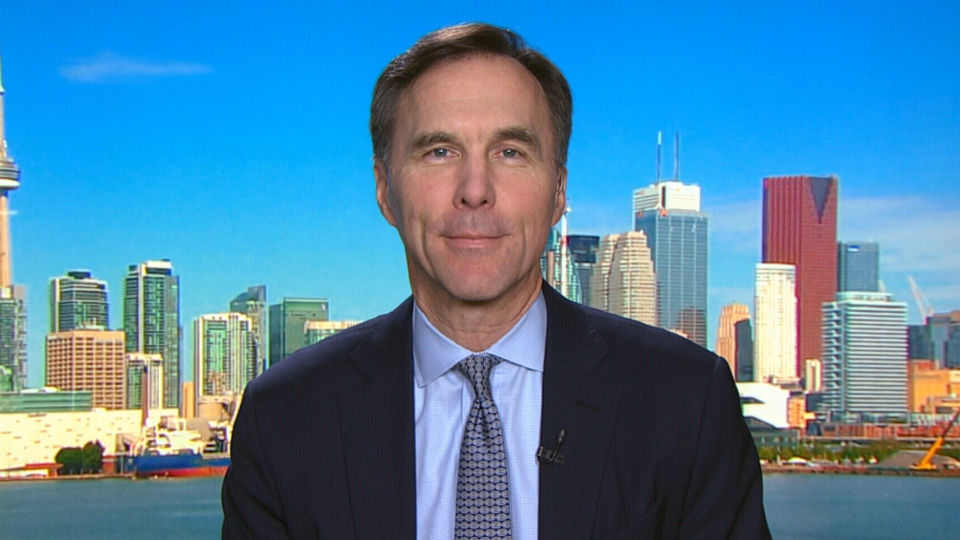 Finance Minister Bill Morneau speaks to CTV's Question Period on March 4, 2018.