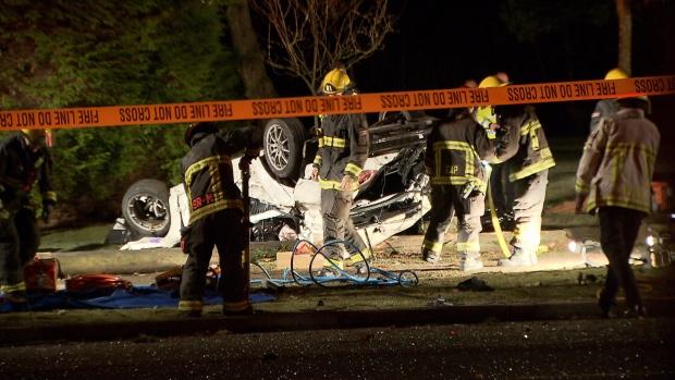 21-year-old dies in high-speed crash near UBC