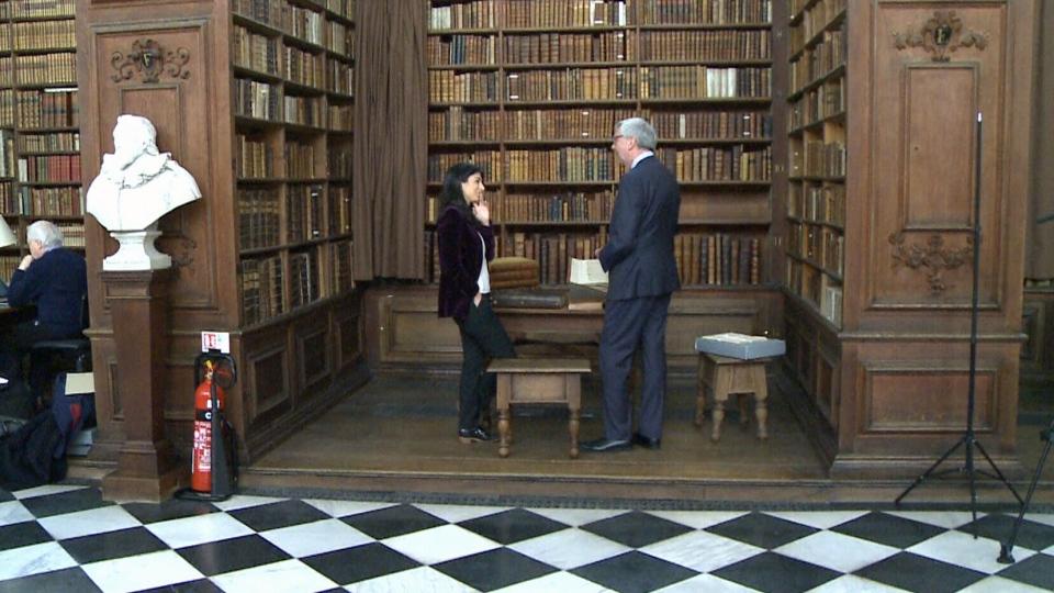 Stephen Toope, speaks in Cambridge University