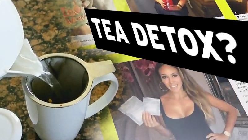 Detox teas