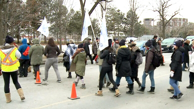 Strike underway at Carleton University