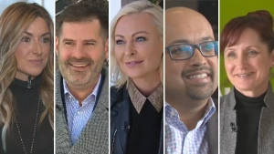 Carrie Doll, Ryan Jespersen, Krista Ference, Ayaz Bhanji, and Cheryll Watson make up the panel of five judges set to choose one idea from The Edmonton Project short list on March 6, 2018.