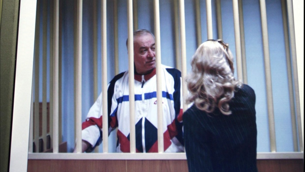 Sergei Skripal speaks to his lawyer in 2006