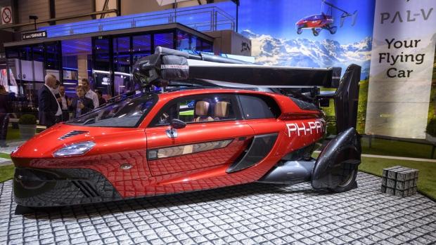 The New PAL-V Liberty at Geneva Motor Show