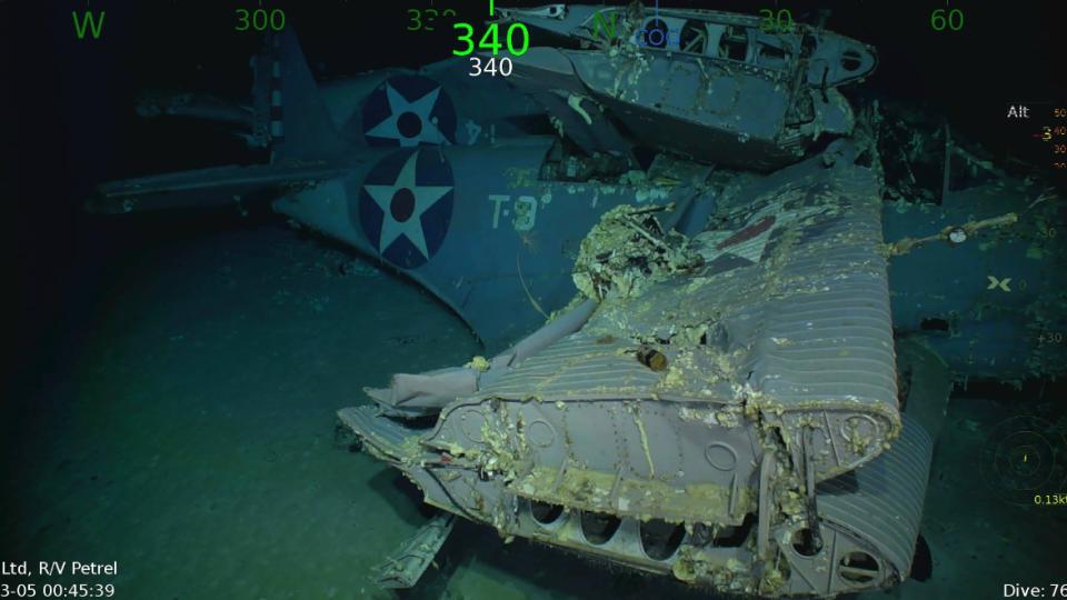 Lexington Volkswagen >> Wreckage of famed U.S. Second World War carrier discovered | CTV News