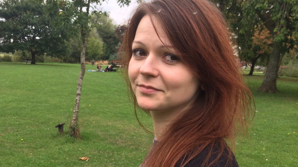 An image of the daughter of former Russian Spy Sergei Skripal, Yulia Skripal, taken from Yulia Skipal's Facebook account on March 6, 2018. (Yulia Skripal / Facebook via AP)