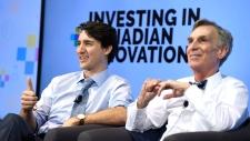 Justin Trudeau, Bill Nye