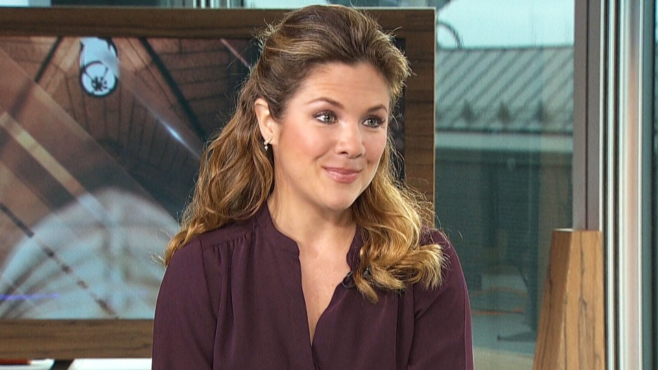 Sophie Gregoire Trudeau on CTV's Power Play.