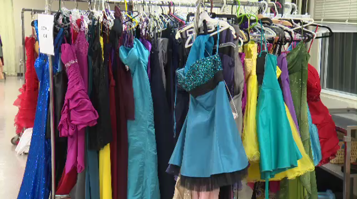 There were over 400 dresses on hand for the annual event in Ingersoll.