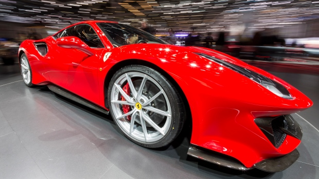 High End Sports Cars Gleam At Geneva Auto Show