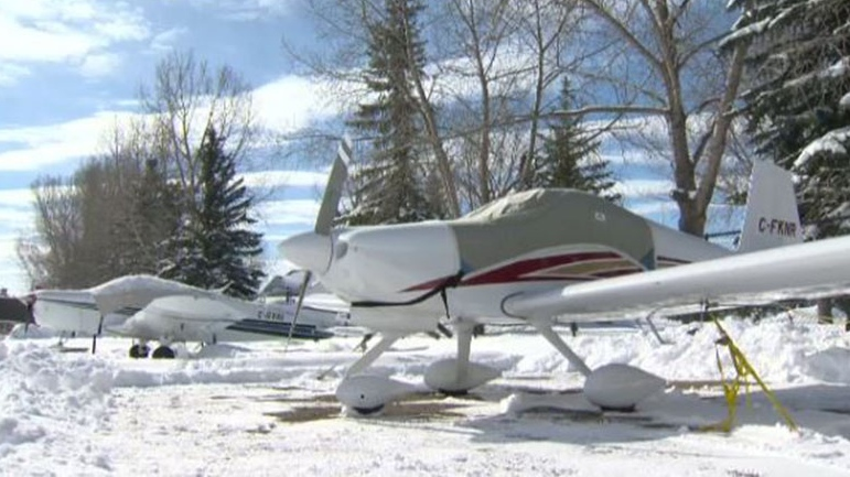 Many of the aircraft based at Calgary/Springbank are owned by survey companies, contractors and training schools.