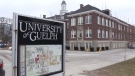 The University of Guelph is pictured above.