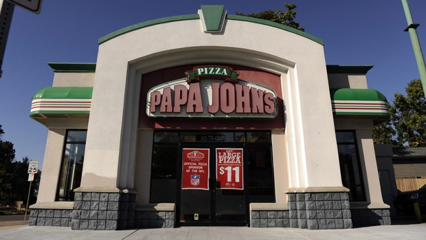 Papa John's location in Denver, on Sept. 29, 2011. (Hyoung Chang/The Denver Post via AP)