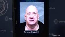 A mugshot of Terrence Noftall