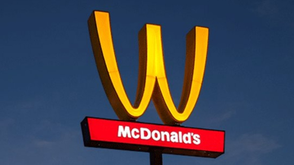 Mcdonald S In The U S Flips Golden Arches To A W For