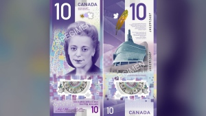 Viola Desmond's trailblazing act of defiance -- overlooked for decades by most Canadians -- was honoured Thursday in a Halifax ceremony. (THE CANADIAN PRESS/HO-Bank of Canada)