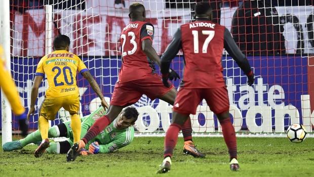 CONCACAF Champions League quarter-final action