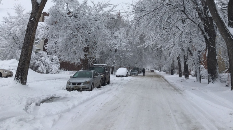 residential parking ban