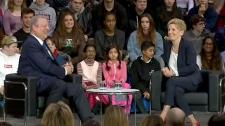 Al Gore and Premier Kathleen Wynne