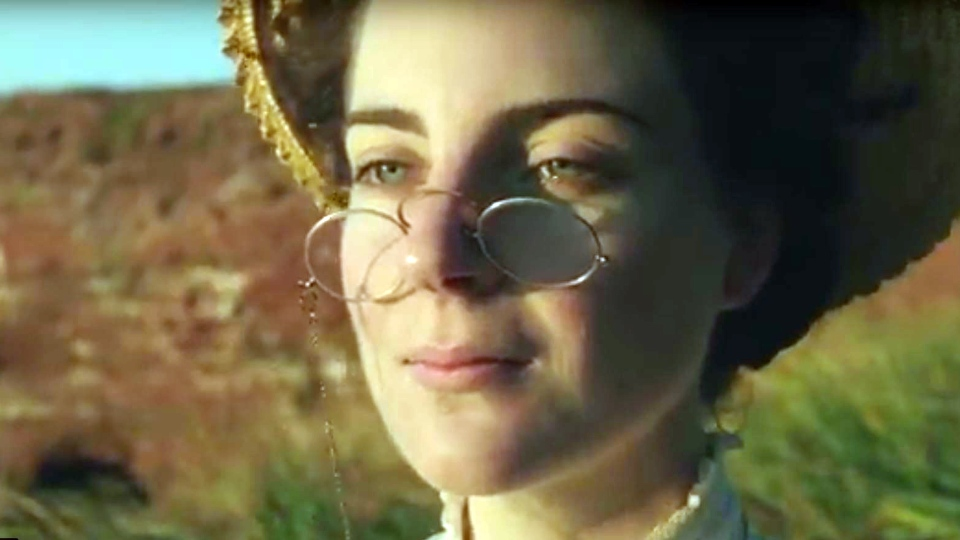In the 60-second video featuring sweeping landscapes of P.E.I., the actor explains how Montgomery composed her most popular character, Anne of Anne of Green Gables, from elements of her own childhood. (Historica Canada)