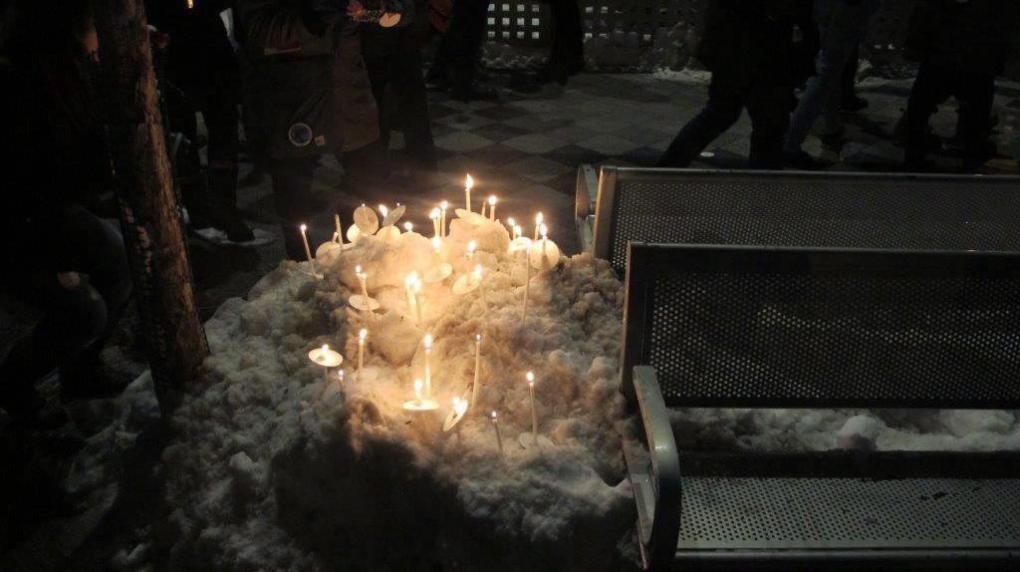 Vigil in Village for McArthur's alleged victims