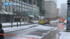 Eaton Center gas leak