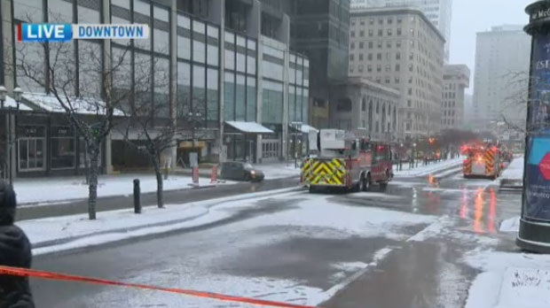 The Eaton Center and McGill Metro station were evacuated due to a gas leak on Thur., March 8, 2018.