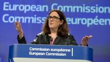 European Commissioner for Trade Cecilia Malmstroem
