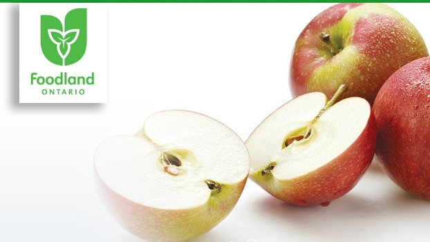 This unique dessert brings out all the amazing flavours that local apples have to offer. Paired with a luscious gingered whipped cream, they are perfect for either dessert or to enjoy with a cup of tea. (Foodland Ontario)