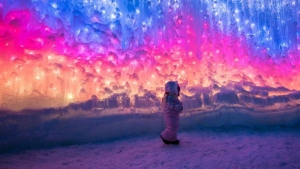 The Ice Castles will not be returning to Edmonton this winter. The company said it is scaling back on its locations because of the COVID-19 pandemic.