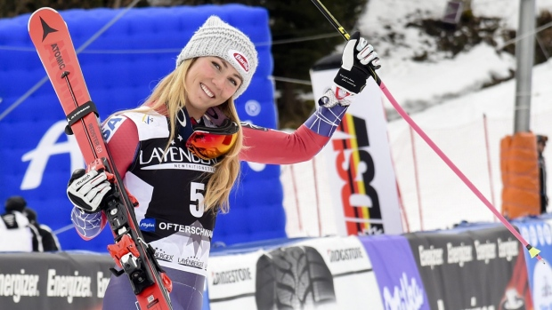 Mikaela Shiffrin secures 2nd straight World Cup skiing title