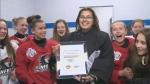 Athlete of the week: Lazaya Villeneuve