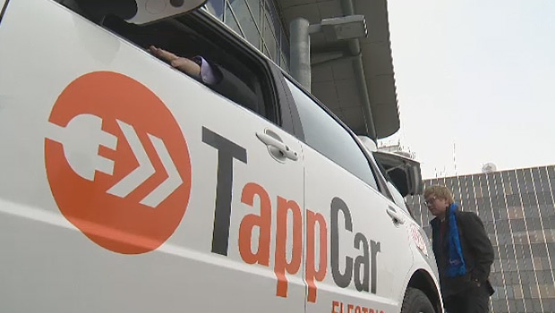 TappCar announced plans to roll out a pure-electric fleet in the summer of 2018.