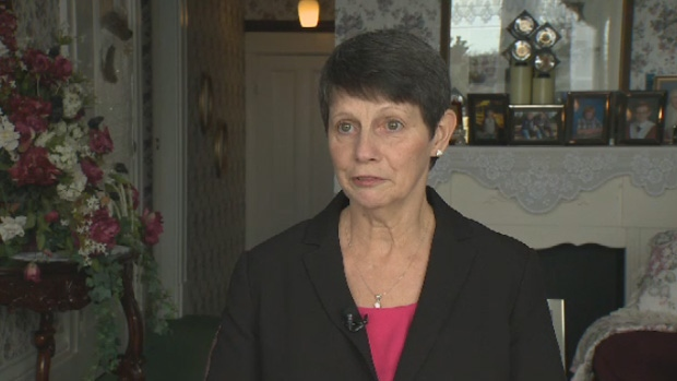 Sandy Dennis is trying to bring radiation therapy to the Yarmouth General Hospital