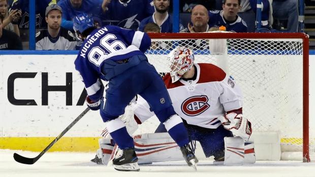 kucherov leads lightning past canadiens 3 2 in shootout ctv news