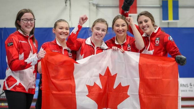 Sterling Middleton and Team Canada Win World Junior Curling Championships