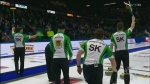 Team Sask. talks 2018 Brier