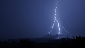 Lightning strikes in this file photo. (Pexels)